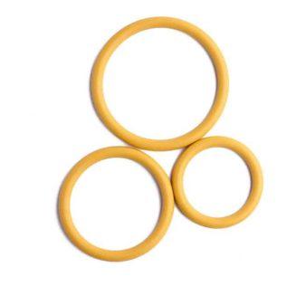 Tři erekční kroužky žluté