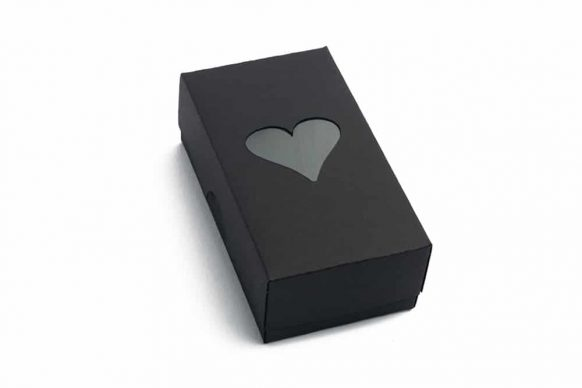 Černá dárková krabička